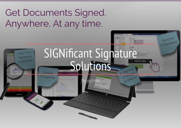 SIGNificant Signature Solutions