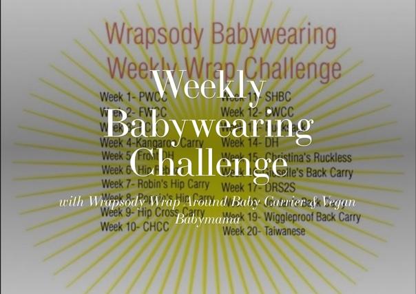 Weekly Babywearing Challenge