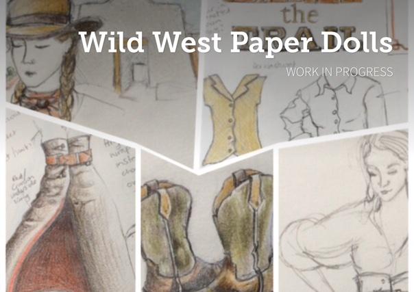 Wild West Paper Dolls
