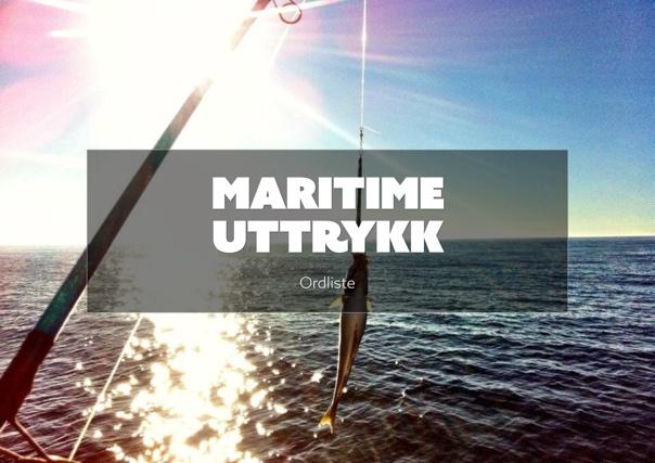 Maritime utrykk