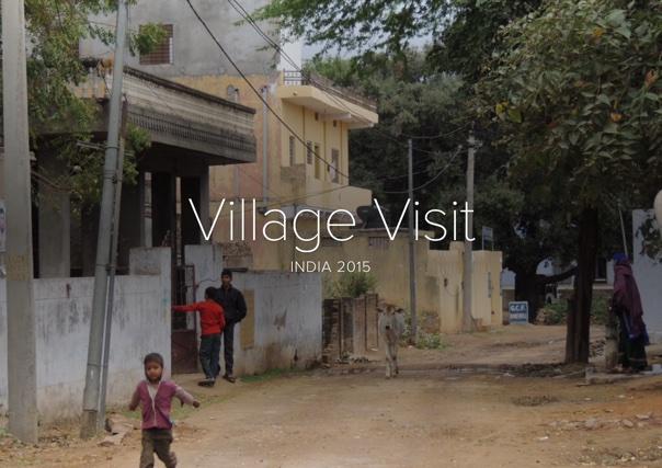 Village Visit, India 2015
