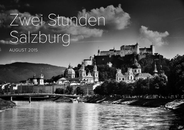Zwei Stunden Salzburg