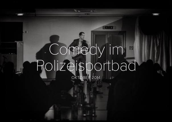 Comedy im Polizeisportbad